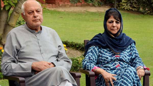 Farooq Abdullah and Mehbooba Mufti