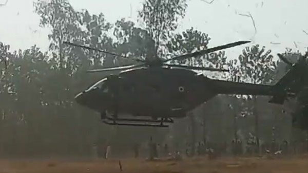 IAF chopper makes precautionary landing