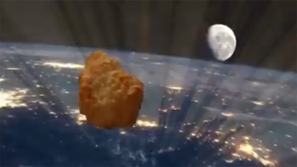 First-ever chicken nugget sent into space by UK supermarket giant