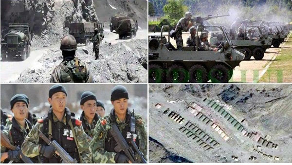 Chinese PLA commissions modern barracks, station heavy artillery near disputed border with India