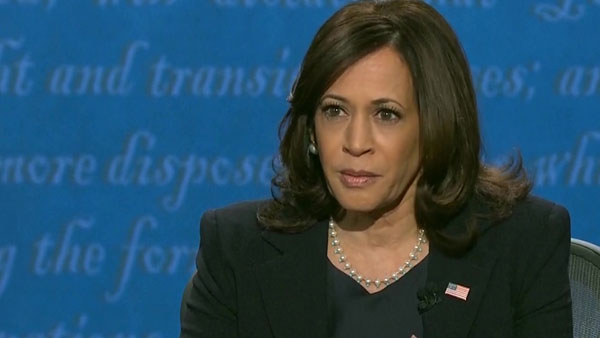 Our values are shared by majority of American people: Kamala Harris