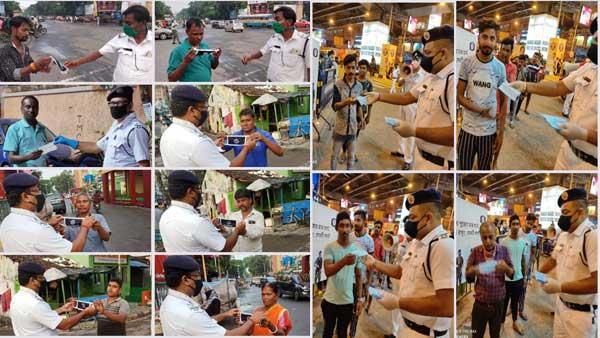 Durga Puja 2020: Kolkata cops to distribute masks
