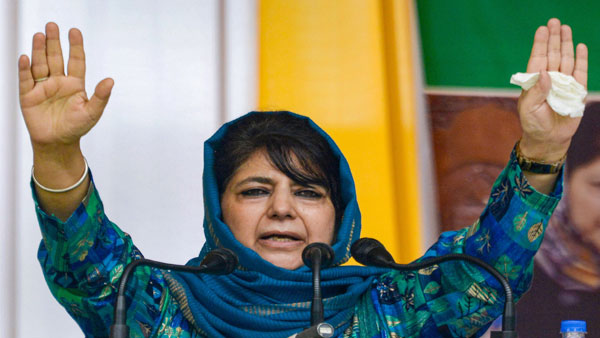 My struggle is for restoration of Article 370 says Mehbooba after release