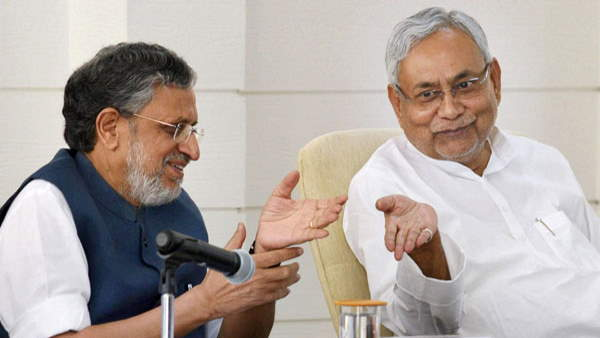 Bihar polls: Nitish, Sushil Modi launch joint poll campaign; hit out at Lalu