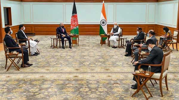 Afghanistan's top peace negotiator meets Prime Minister Narendra Modi