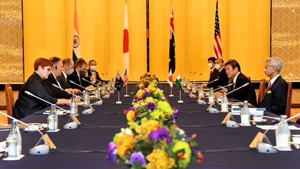 On Quad meet, China says it opposes exclusive cliques