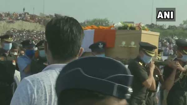 In pictures: Ram Vilas Paswans last journey