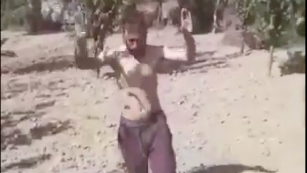 Don't fire, give him water: Watch dramatic surrender of a terrorist in J&K