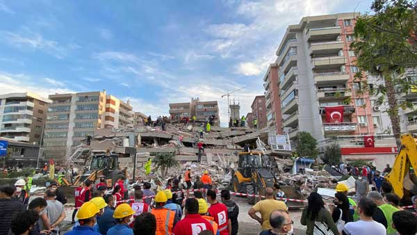 Watch: Viral videos of terrible Turkey earthquake and mini-tsunami