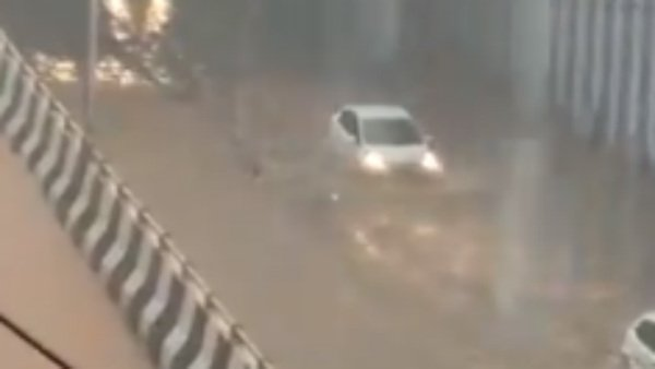 Bengaluru rains: Heavy showers triggers waterlogging in low lying areas