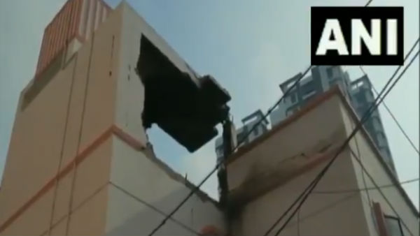 Kolkata: Powerful explosion blows off roof of Beleghata Gandhimath Friends Circle Club
