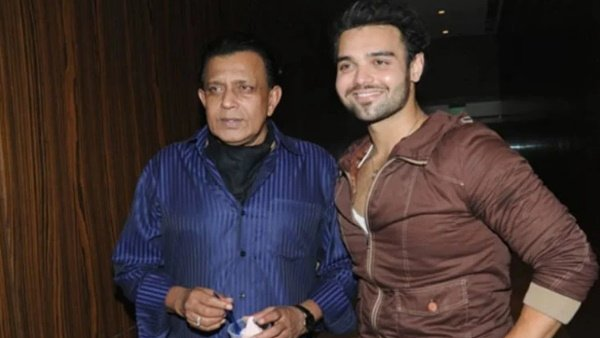 Mithun Chakraborty and his son Mahaakshay