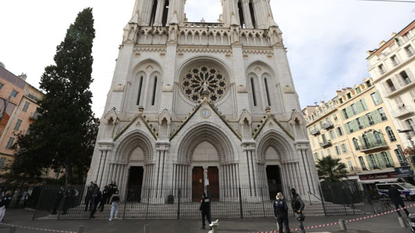 France: Knife-wielding man shot dead after attacking police in Avignon