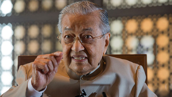 Mahathir Mohammad says remarks on French attack taken out of context