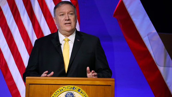 Wheels up for my trip to India says Pompeo: At 2+2 meet China, intel sharing on the cards