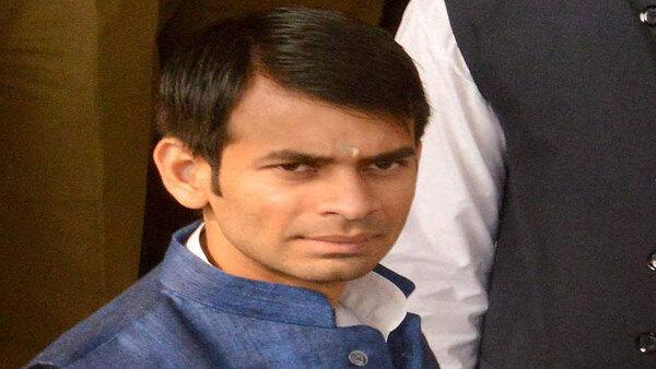<strong>Bihar Elections 2020: Lalu Yadav's son Tej Pratap Yadav wins in Hasanpur</strong>