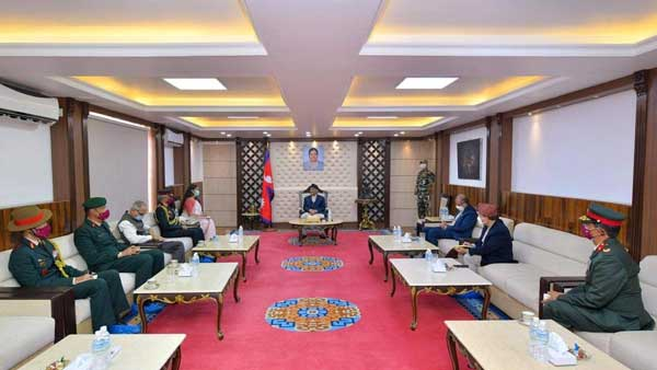 India-Nepal share special relationship says Oli during meeting with Indian Army Chief