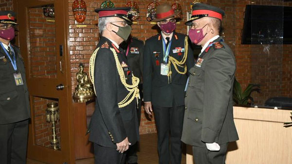 General Naravane arrives in Nepal on three day visit