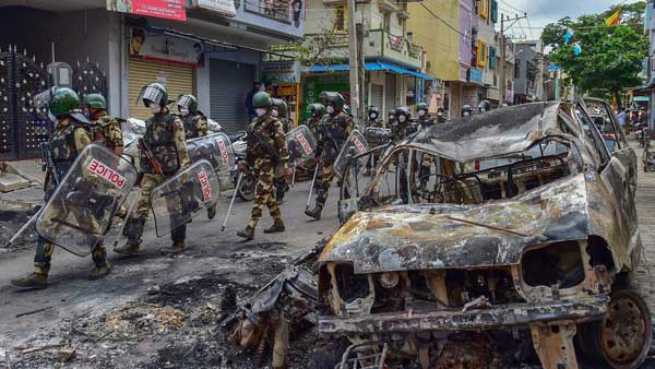 Riots case: NIA searches 43 locations in Bengaluru