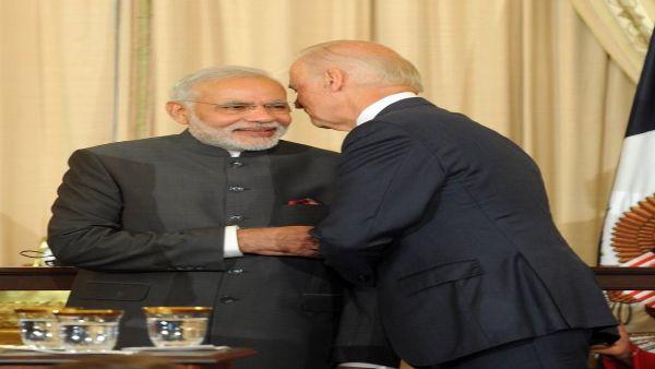 PM Modi congratulates Joe Biden on 'spectacular victory'