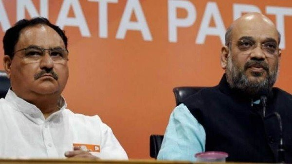 Shah, Rajnath, Tomar hold talks with BJP chief over farmers' protest