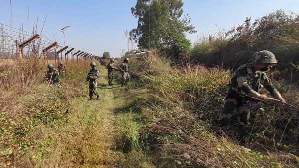 Pak intruder killed by BSF along International Border in Jammu