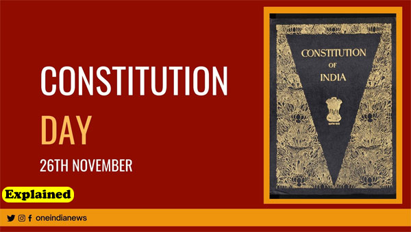 Explained: What is Constitution Day? what was November 26 observed as before 2015?