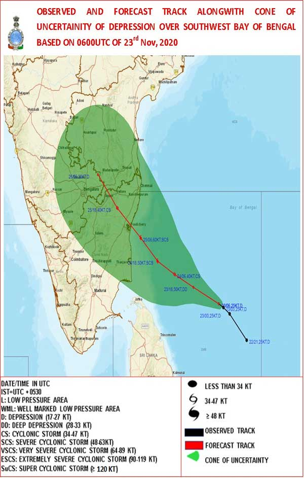Cyclone to affect the coastal areas