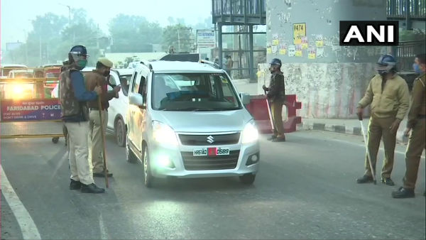 Delhi Chalo: Police use water cannon to disperse farmers near Ambala