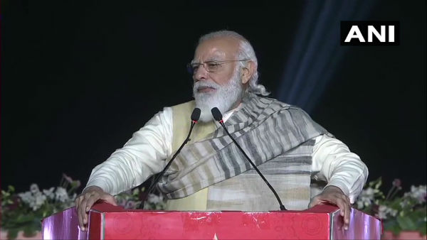 Nation giving befitting reply to expansionist forces, says PM Modi