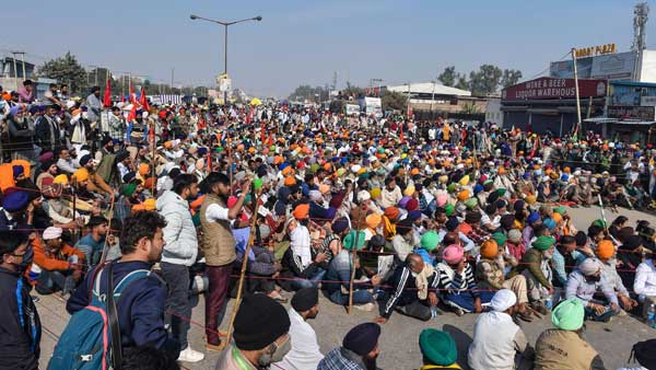 Farmers' Protest: Delhi police divert traffic as borders continue to remain closed