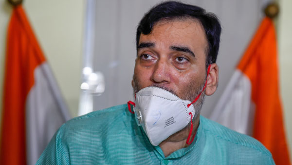 Delhi Environment Minister, Gopal Rai tests positive for COVID-19