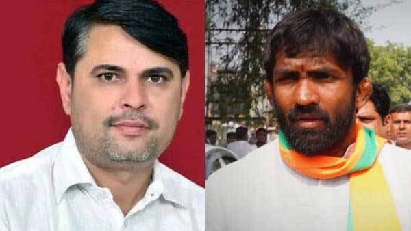Haryana Bypoll Result 2020: Congress' Indu Raj leading over BJP's Yogeshwar Dutt in Baroda seat
