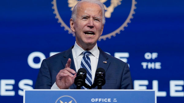 A week later, China congratulates Biden on US election win
