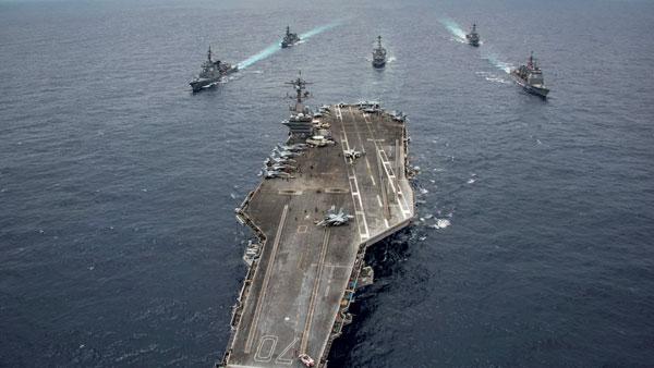 With USS Nimitz, INS Vikramaditya, 2nd phase of power packed Malabar exercise to kick off