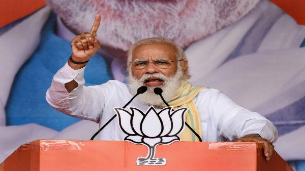 PM Modi promotes 'Aatmanirbhar Bihar'; warns against 'jungle raj' during Motihari rally