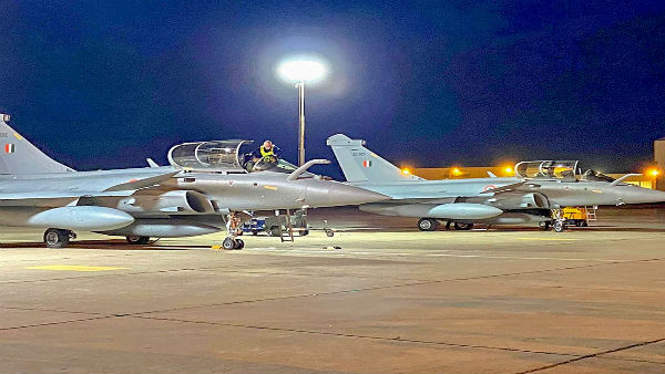 Three more Rafale jets arrive in India after flying non-stop from France