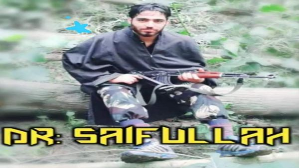 The importance was killing Kashmir's Hizbul chief Saifullah Mir