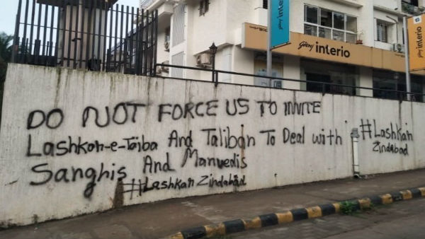 Graffiti in support of terror groups surfaces in Mangaluru on anniversary of Mumbai attack