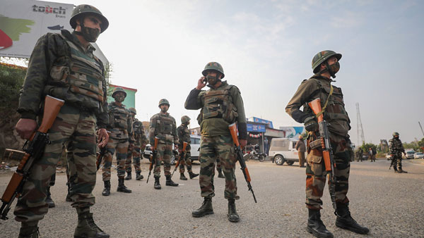 4 JeM terrorists gunned down in encounter at Nagrota, J&K