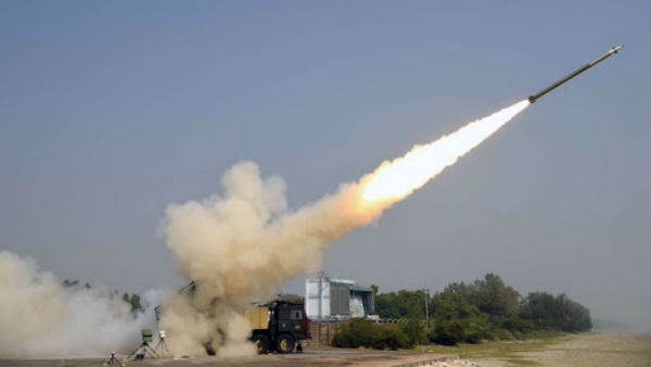 Enhanced version of Pinaka rocket system successfully test-fired