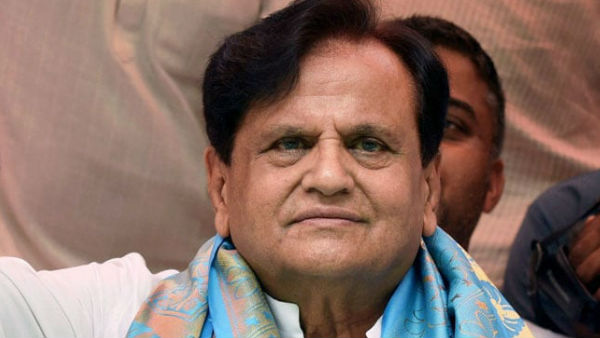 Senior Congress leader Ahmed Patel
