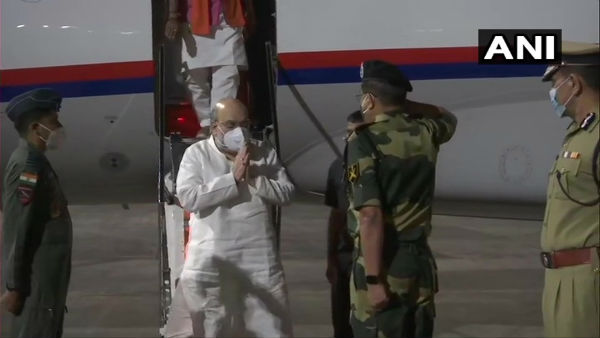Amit Shah arrives in Kolkata to take stock of BJP organisation in WB before assembly polls