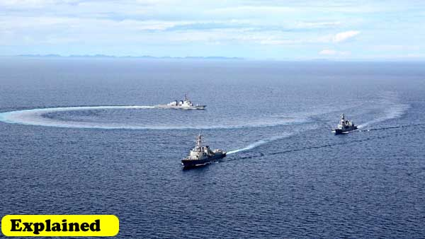 Explained: What you should know about the first phase of Malabar Exercise 2020