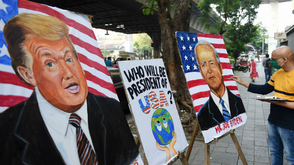 Trump or Biden? US presidential race reaches climax; long lines seen outside polling stations