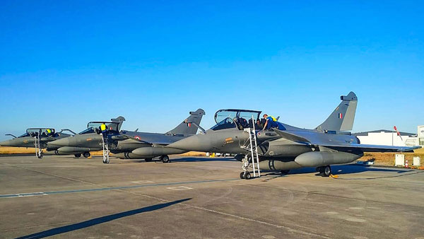 Solitary Rafale squadron to be further bolstered next month