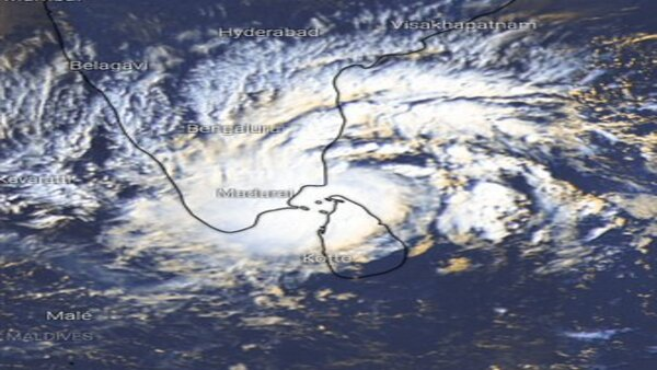 What is the path of cyclone Burevi; Check satellite images here