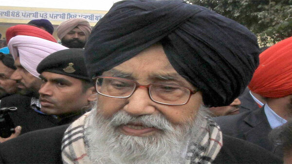 Govt could have dealt better: Parkash Singh Badal writes to PM on farmers' protests