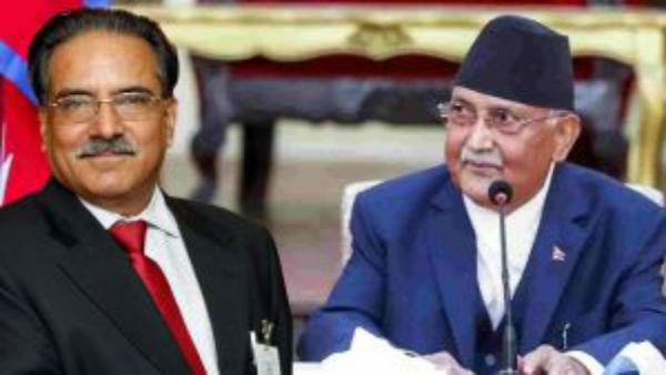 Nepal political crisis: Chinese delegation meets top NCP leaders Prachanda, Madhav Nepal