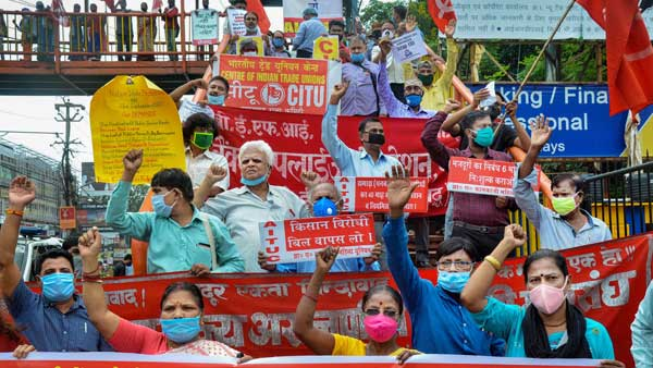 Two of biggest railway unions pledge support to Bharat Bandh today